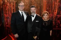 Gala 2017 - John, Michael and Elana