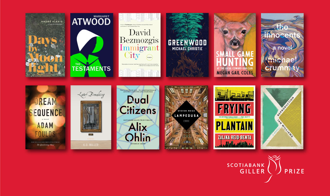 The Scotiabank Giller Prize Presents its 2019 Longlist