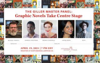 Giller Maser Panel: Graphic Novels Take Centre Stage